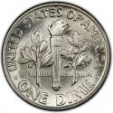 1954 Roosevelt Dime Value
