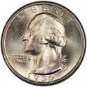 1936 Washington Quarter Value