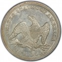 1845 Seated Liberty Silver Dollar Values