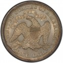 1872 Seated Liberty Silver Dollar Values
