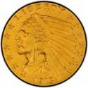 1913 Indian Head $2.50 Quarter Eagle
