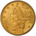1868 Liberty Head Double Eagle