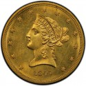 1841 Liberty Head $10 Gold Eagle