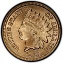 1862 Indian Head Pennies