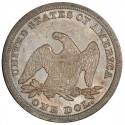 1847 Seated Liberty Silver Dollar Values