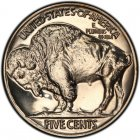 1936 Buffalo Nickel Dollar