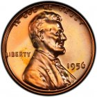 1956 Lincoln Wheat Pennies
