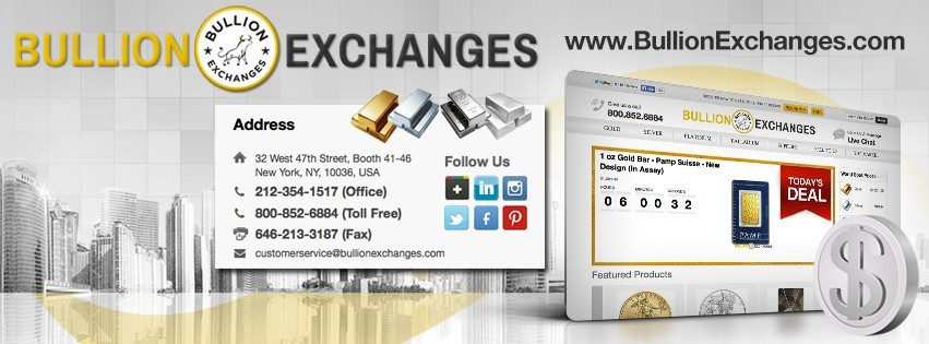 Bullion Exchanges Website