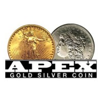 Apex Gold Silver Coin Logo