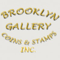 Brooklyn Gallery of Coins and Stamps Logo