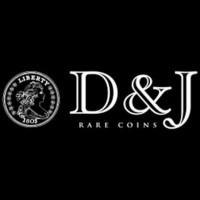 D & J Rare Coins Logo