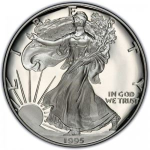 1995 American Silver Eagle Values and Prices | CoinValues com